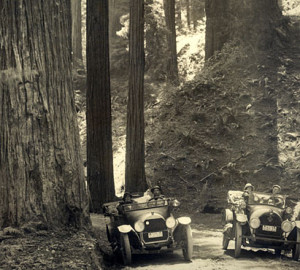 Tibbitts Redwood Highway before 1918
