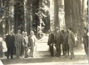 Bolling Grove dedication, 1921