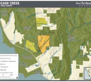 Cascade Creek Map thumbnail