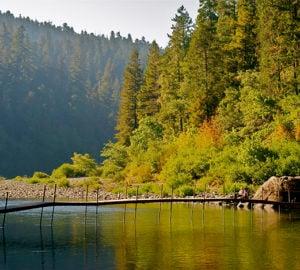 Smith River, Jedediah Smith Redwoods State Park. Photo by Jon Parmentier
