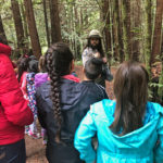 The Live Like Coco Foundation takes Santa Cruz County students on a field trip to Nisene Marks to see redwoods. Photo courtesy of The Live Like Coco Foundation