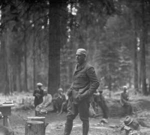 Stephen Mather, father of the National Parks Service and a founder of Save the Redwoods League. Photo courtesy Sequoia and Kings Canyon National Parks