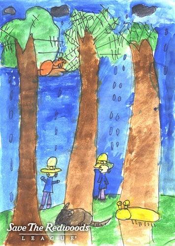 Art by Xuying, Sunset Elementary School