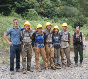 SCA crew, and their California State Parks supervisor.