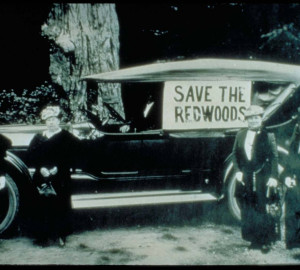Save the Redwoods ladies, 1918. Photo courtesy of Humboldt Historical Society.