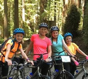 Explore via Bike at Arcata Community Forest