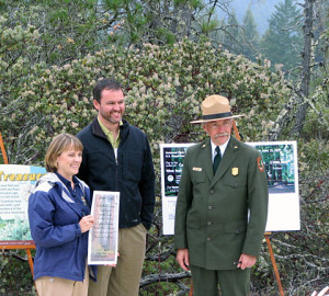 I am joined by Ruth Coleman and Jon Jarvis to celebrate acquisition of the Sandhill property from League to state parks.