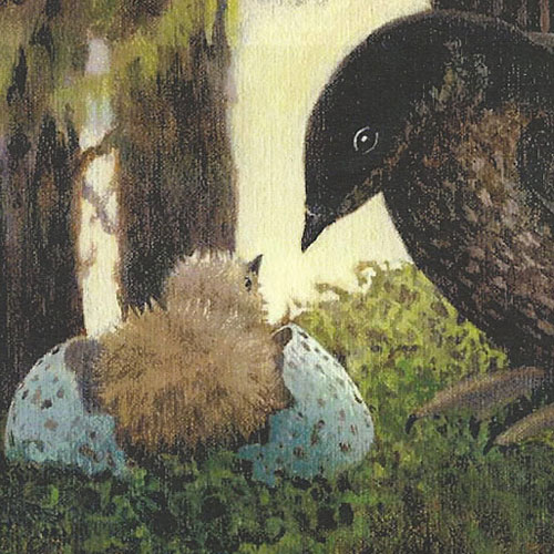 Art by Joan Dunning, author of 'Seabird in the Forest'