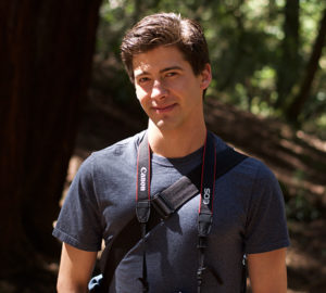 Kyle Da Silva, League Redwoods Reporter. Photo by Ella Teevan
