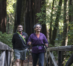 Big Basin is among the parks participating in the League's 2018 Free Second Saturdays at Redwood State Parks program. Photo by Paolo Vescia