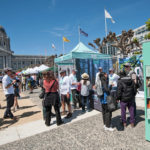 """Welcomed 10,000 visitors to the """"Stand for the Redwoods, Stand for The Future"""" Earth Day festival in San Francisco."""